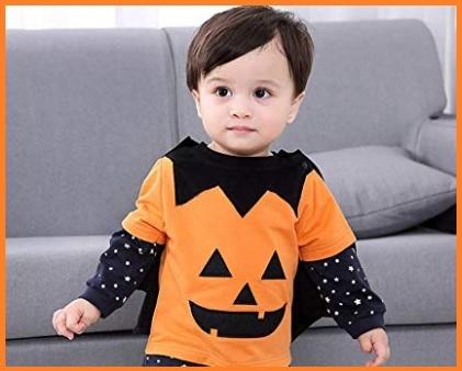 Halloween zucca bambina