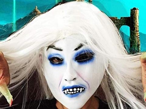 Parrucche per halloween spaventosa
