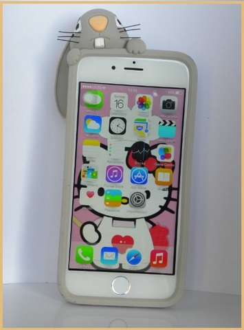 Cover 3d per iphone 6 coniglio
