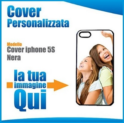 Cover per iphone 5 e iphone 5s personalizzabile