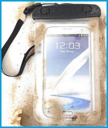 Custodia impermeabile per vari smartphone