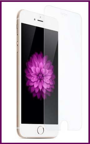 Pellicola temperata e trasparente per iphone 6