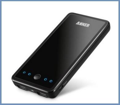 Carica batterie esterno per smartphone e tablet