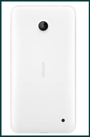 Cover originale per smartphone nokia lumia 630-635