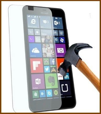 Pellicole smartphone vetro temperato nokia lumia 640