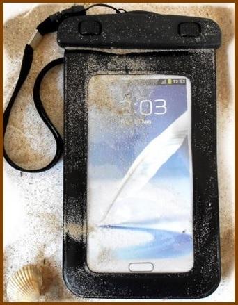 Custodia smartphone resistente all'acqua per vari smartphone