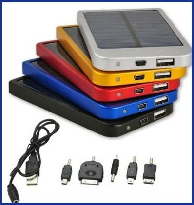 Caricabatterie solare cellulare da 2600mah
