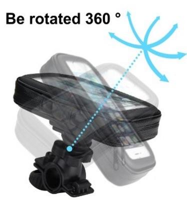 Custodia per auto con inclinazione 360° samsung s6