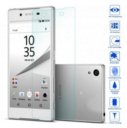 Vetro temperato per la protezione dello smartphone sony z5