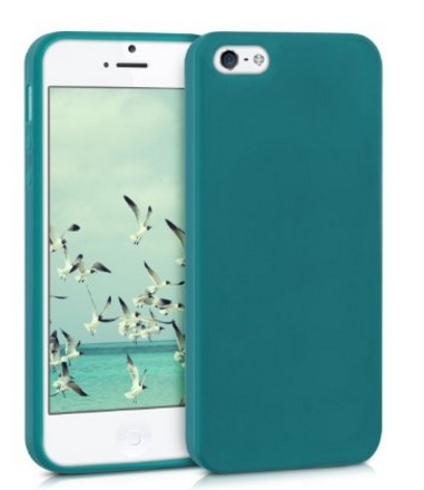 Cover classica per iphone se verde in silicone