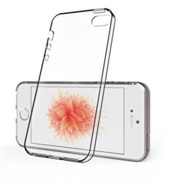 Cover trasparente e flessibile per iphone se