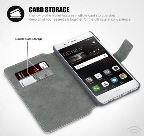Custodia protettiva ed elegante per smartphone huawei p9