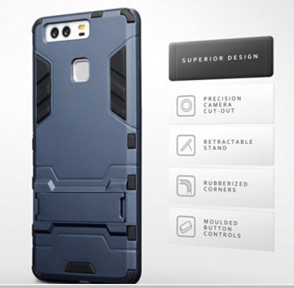 Cover Stile Robot In Policarbonato Huawei P9