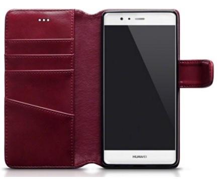 Custodia In Pelle E Cuoio Per Huawei P9