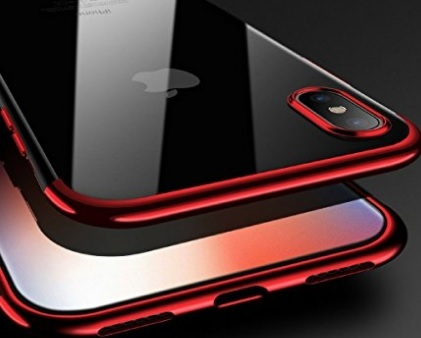 Cover Iphone X Rosso