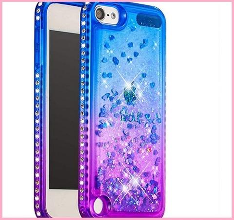 Cover Ipod Touch Brillantini Colorati