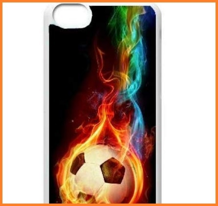 Cover Ipod Touch Calcio Colorata