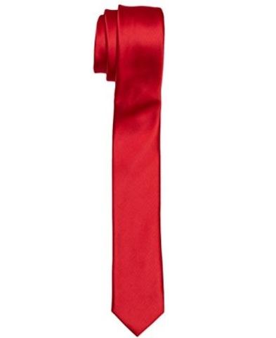 Cravatta rossa classica da uomo