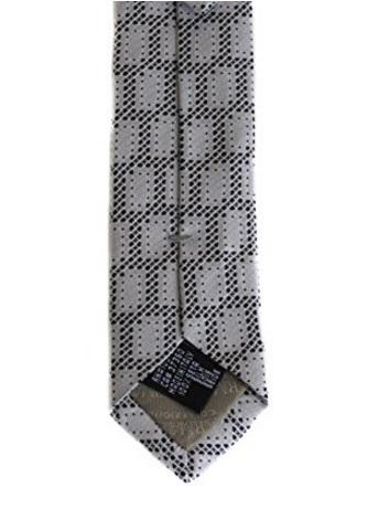 Cravatta armani elegante a quadretti