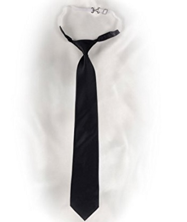 Cravatta con elastico comoda da indossare uomo