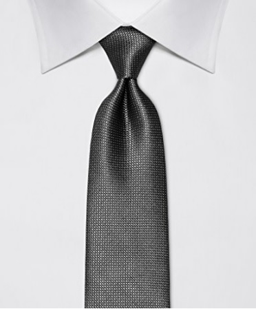 Cravatta grigia a pois sfumature