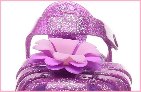 Ciabatte crocs rosa con brillanti