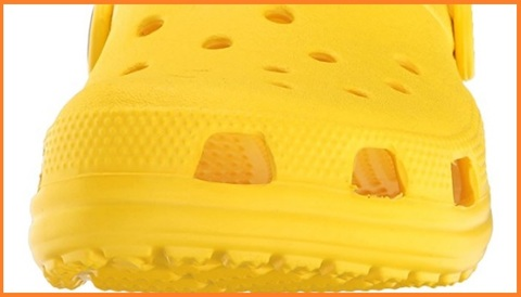 Ciabatte crocs gialle bambini