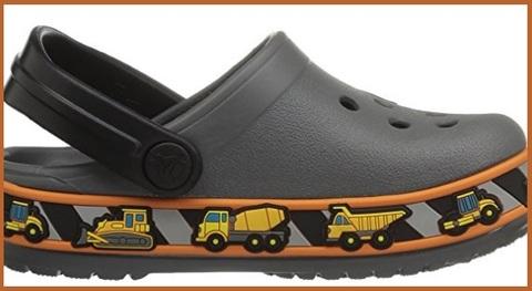 Crocs graphic trattori per bimbi