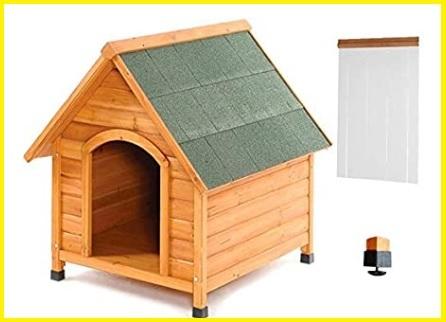 Cuccia per cani in legno da esterno