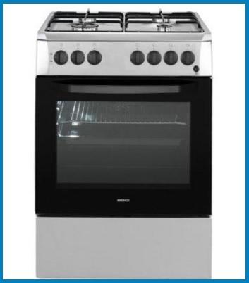 Cucina forno elettrico con vista panoramica