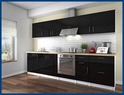 Cucina moderna e contemporanea lucida