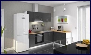Cucina completa angolare moderna e laccata | Grandi Sconti | Cucine ...