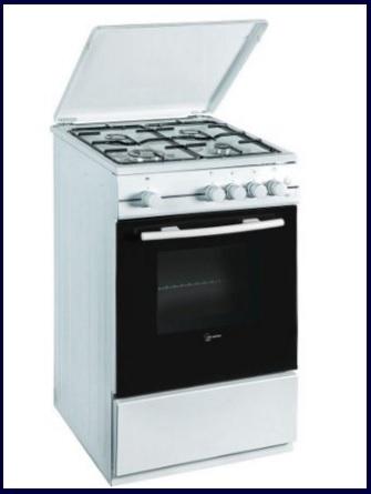Cucina classica a gas forno elettrico