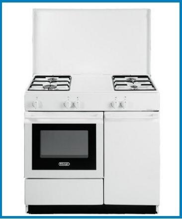 Cucina classica con forno a gas con classe di efficienza a