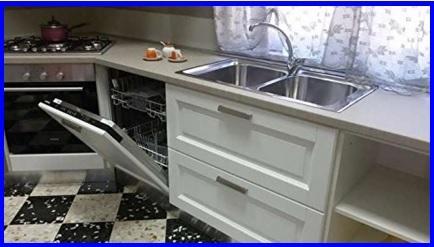 Cucina moderna e componibile massello di frassino