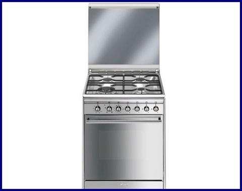 Cucina A Gas Con Forno Elettrico Smeg