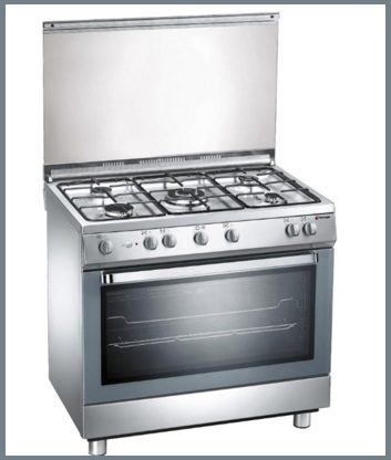 Cucina Con Fornello Elettrico Extra Lusso