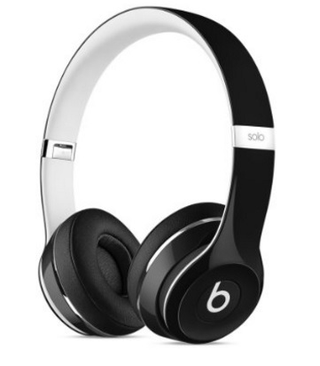 Cuffie beats solo2 on ear wireless black edition