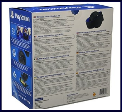 Cuffie playstation 4 con microfono wireless