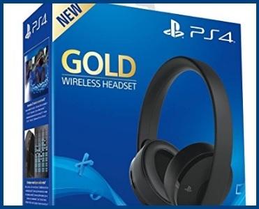 Cuffie Sony Ps4 Wireless Oro