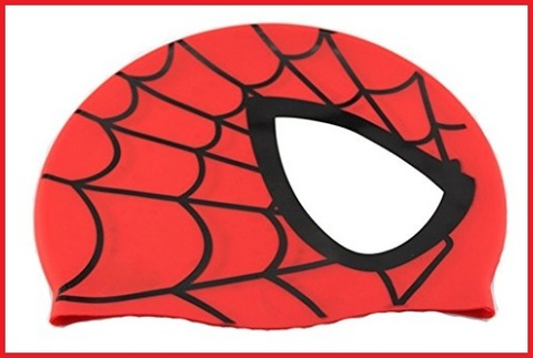 Cuffia impermeabile di spiderman