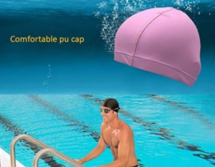 Cuffie per piscina adulti donna tessuto