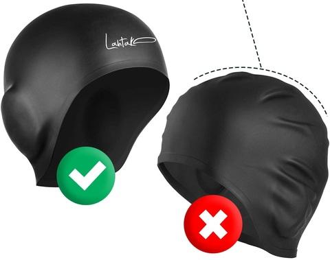 Cuffie per piscina capelli asciutti