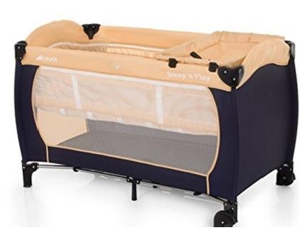 Culla box da campeggio pieghevole design moderno