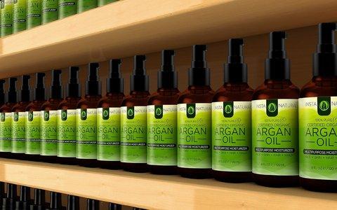Olio Per La Cura Dei Capelli Di Argan Bio Con Vitamine E