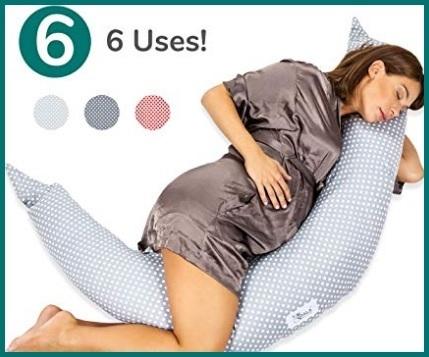 Cuscino Gravidanza Per Dormire E Allattamento Neonato