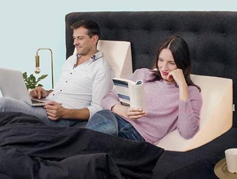 Cuscino relax per supporto letto