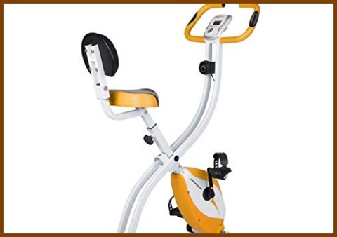 Cyclette Casa Pieghevole Con Sensori