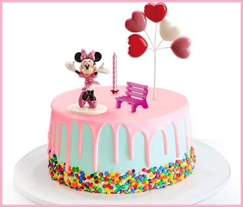 Decorazioni torta compleanno bimba