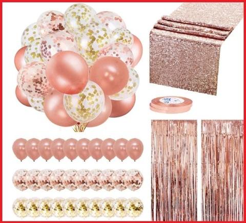 Decorazioni rosa festa natale
